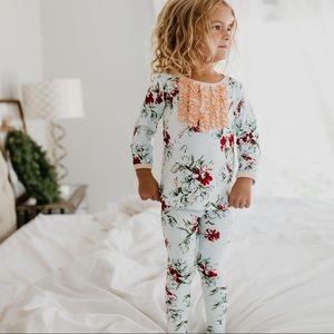 3T Sweet Honey Dreamer Pajamas-Snowy Bouquet